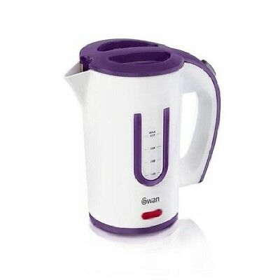 Swan SK19010N Electric Travel Jug Kettle 0.5L Litre With 2 Cups