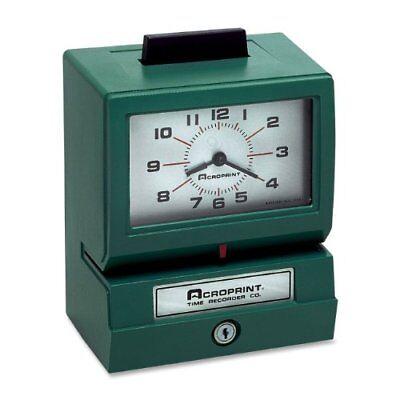Acroprint 125nr4 Manual Print Time Recorder - Card Punch/stamp (ACP011070411) - Manual Print Time Recorder