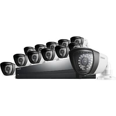 Samsung SDS-P5122 12 Camera 16 Channel DVR Video Security System
