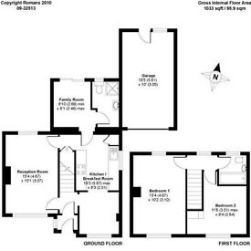 Spacious 2 double bedroom house in Wokingham, RG41