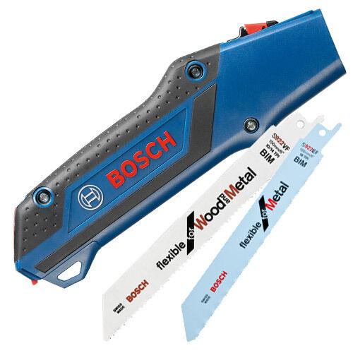 Bosch Recip Pocket Saw with S922EF + S922VF Blades - 2608000495