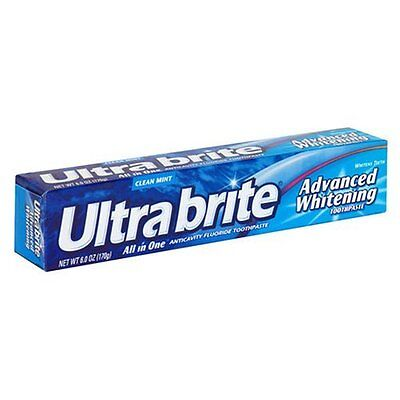Ultra Brite Advanced Whitening All in One Mint Toothpaste 6.0 Oz (All In One Toothpaste)