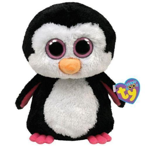 pinguin kuscheltier stofftiere ebay. Black Bedroom Furniture Sets. Home Design Ideas
