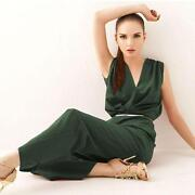 Womens Green Jumpsuit