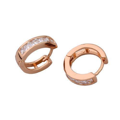 Small 9ct Gold Hoop Earrings Ebay