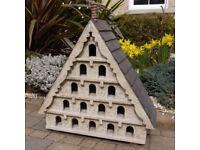 Large Size Decorative Wooden Garden Birdhouse/Food Feeder