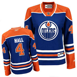 Taylor Hall Oilers Jersey - Womens Small
