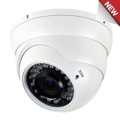 Sony Cmos Ccd 1300tvl 2.8-12mm Varifocal Zoom Surveillanc...