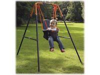 HEDSTROM INDOOR OUTDOOR BABY SWING