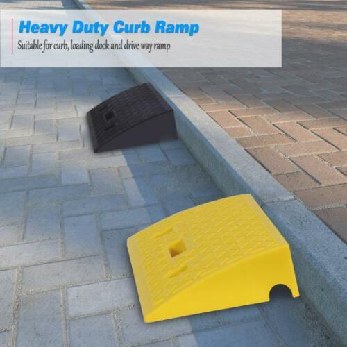 Pyle PCRBDR27 Heavy duty curb ramp, loading dock, drive way ramp