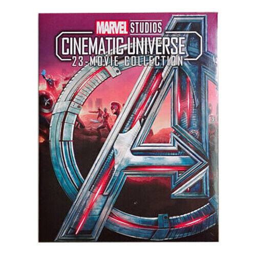 ALL 23 MARVEL CINEMATIC UNIVERSE MOVIE COLLECTION 8-DISC BLU-RAY NEW & SEALED