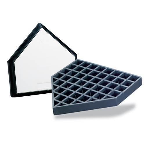 Waffle Style Bury In-Ground Home Plate - Baseball/Softball