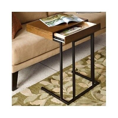Laptop TV Desk Sofa Table Portable W/Storage Drawer Kids Couch Tray Snack Table