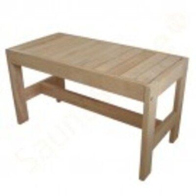 Sauna bench Alder Gr. III: 60x35x30 cm