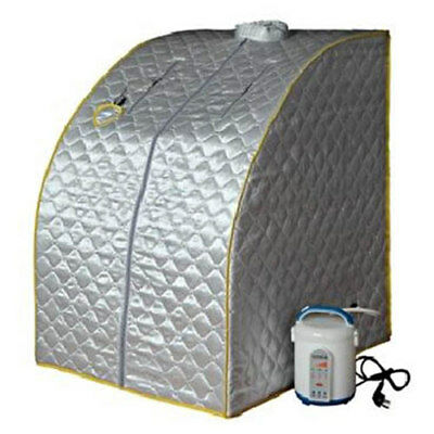 Mobile Dampfsauna Heimsauna Sauna Wärmekabine Sitzsauna Mini Saunakabine Dampf