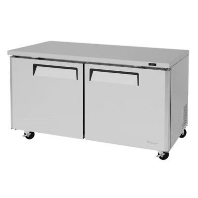 Turbo Air Mur-60-n Self Contained 2 Section Undercounter Refrigerator Cooler