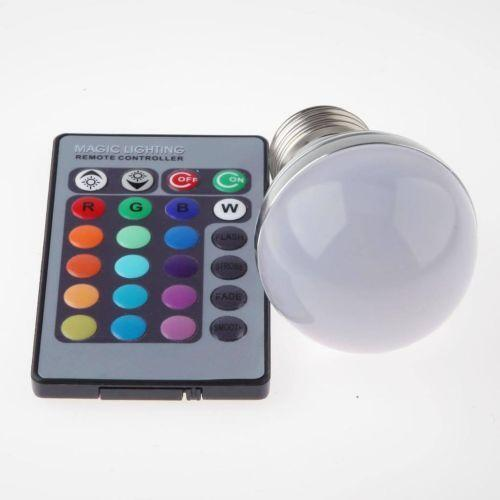 multi color led bulb ebay. Black Bedroom Furniture Sets. Home Design Ideas