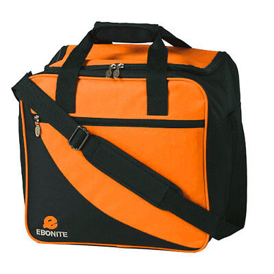 Bowling Ball Tasche Ebonite Basic orange, Bag mit Platz für