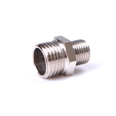 1/4'' BSP Male to 1/8'' BSP Male Airbrush Hose Adaptor Fitting Connector GS