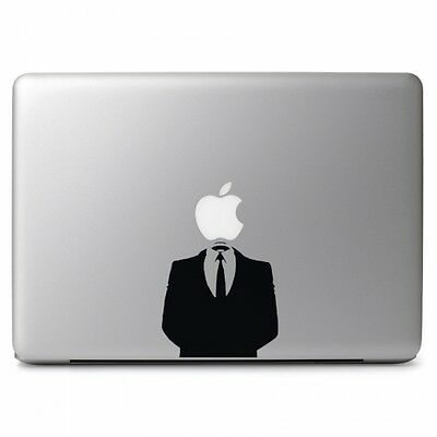 Anonymous Suit for Apple Macbook Air/Pro 13 inch Vinyl Decal Sticker