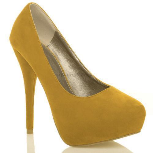 Mustard Yellow Shoes Women