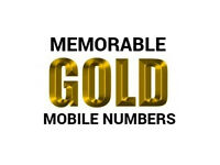 EASY MEMORABLE GOLD MOBILE NUMBER very cheap price