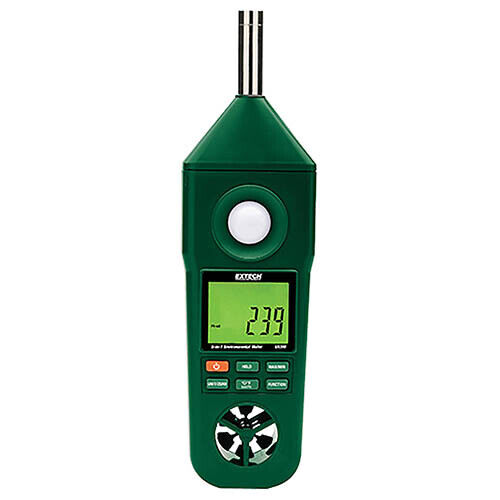 Extech EN300 Hygro-Thermo-Anemometer-Light-Sound Meter