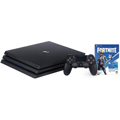 PlayStation 4 Pro 1TB Console Black + Fortnite Neo Versa Bundle