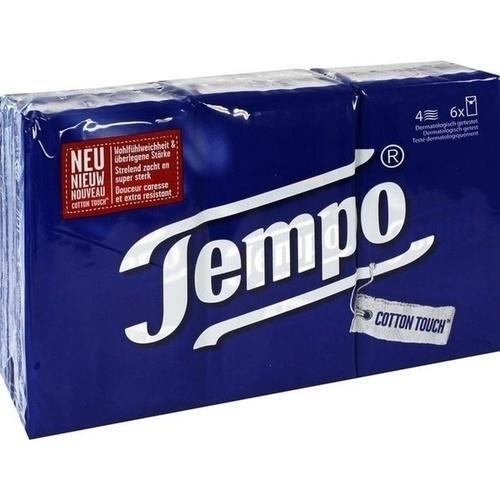 TEMPO Taschentücher ohne Menthol 56505 6X10 St