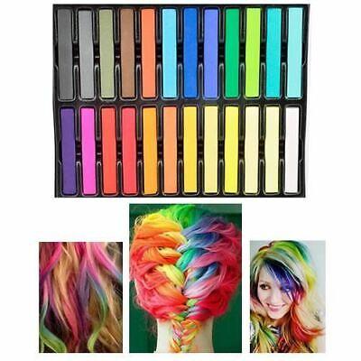 LaRoc Salon Quality Nontoxic Temporary Hair Chalk Colour Dye Soft Pastels DIY...