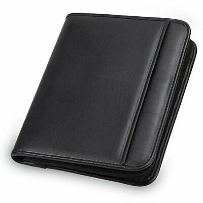 Samsill Professional Junior Zipper Padfolio (70821) Junior Zippered Padfolio