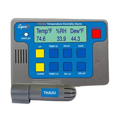 Supco Tha2u Temperature Humidity And Dew Point Alarm Data Logger