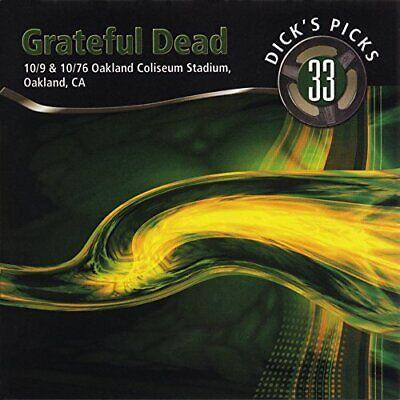 Grateful Dead Dick's Picks Vol. 33 Oakland Coliseum Stadium (4CD-Set) New Sealed