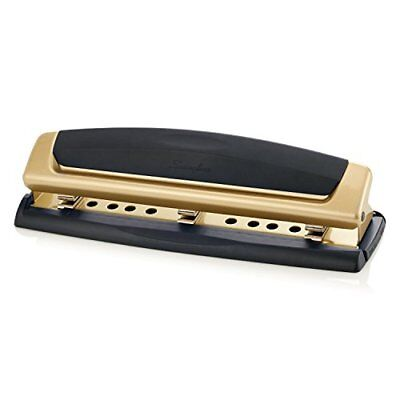 Swingline 3 Hole Punch Adjustable Two-three Hole Puncher 10 Sheets Precision