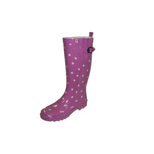 Polka Dot Rain Boots   eBay