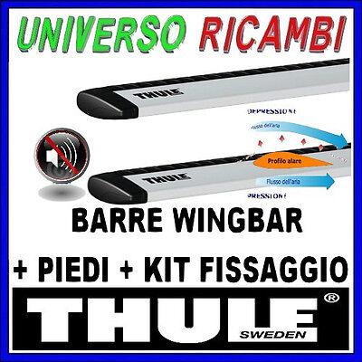 BARRE PORTATUTTO THULE WINGBAR KIT COMPLETO PER OPEL Zafira 5-p MPV 98>02 03757