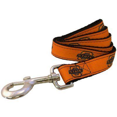 All Star Dogs NCAA Oklahoma State Cowboys Collegiate Dog Leash, Large