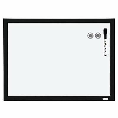 Quartet Magnetic Whiteboard 17 X 23 Inches White Board Dry Erase Board Black