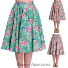 50's, Rockabilly Floral Skirts for Women