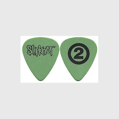 Slipknot Paul Gray RIP authentic 2001 concert tour custom stage band Guitar Pick
