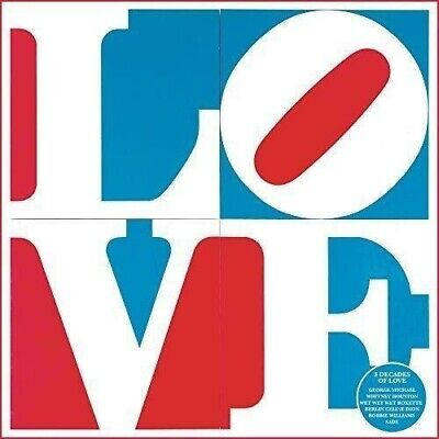 LOVE THE ALBUM -  V/A 3CDs (NEW/SEALED) Ministry Of Sound's 3 decades Of Love.