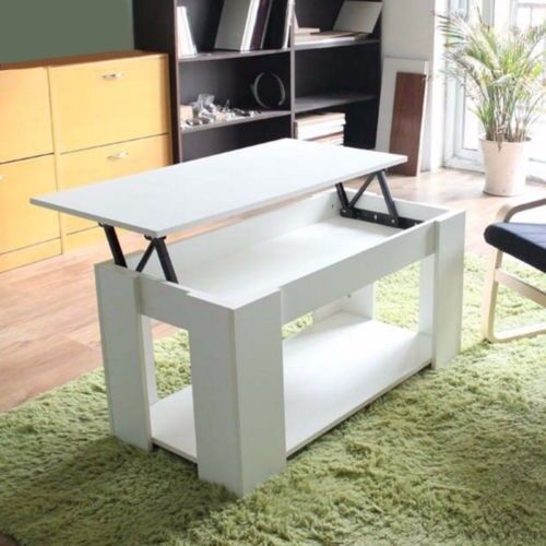 Glass Coffee Tables Gumtree: Modern White Wooden Coffee Table . Lift Top.Fully