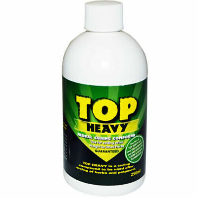 TOP HEAVY 250ML - HERBAL CURING COMPOUND - WEIGHT GAIN - 10% EXTRA YIELD