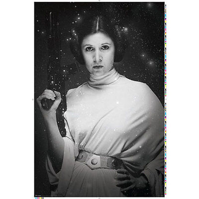Star Wars Classic   Princess Leia Stars Poster 61X91cm New   Carrie Fisher