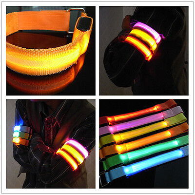 LED Light Glow Glowing Wristband Bracelet Disco Party Street Dance Bar Colorf XT](Dance Wristbands)
