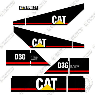 Caterpillar D3g Lgp Decal Kit Equipment Crawler Tractor Dozer 7-year Vinyl