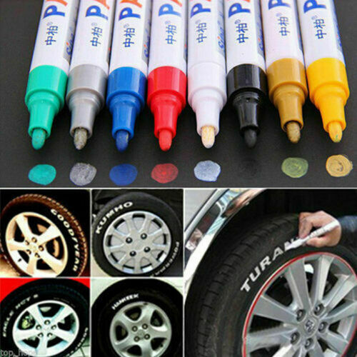 Waterproof Permanent Paint Marker Pen for Car Tyre Tire Tread Rubber Metal pen Art Pens & Markers