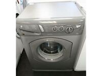 HOTPOINT AQUARIUS WASHING MACHINE - GRAPHITE/SILVER - 1400 SPIN - WITH GUARANTEE - WILL DELIVER