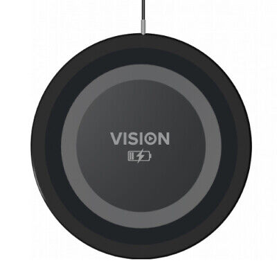 Vision, Qi Wireless Phone Charger, Black 1m (3.2ft)