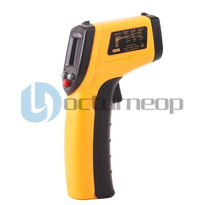 Pro Digital Temperature Temp Gun Sensor Test Heat Laser Infrared Ir Thermometer